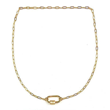 Nikki Smith Designs Perla 14K Link Necklace Accessories - Jewelry - Necklaces - Sophie