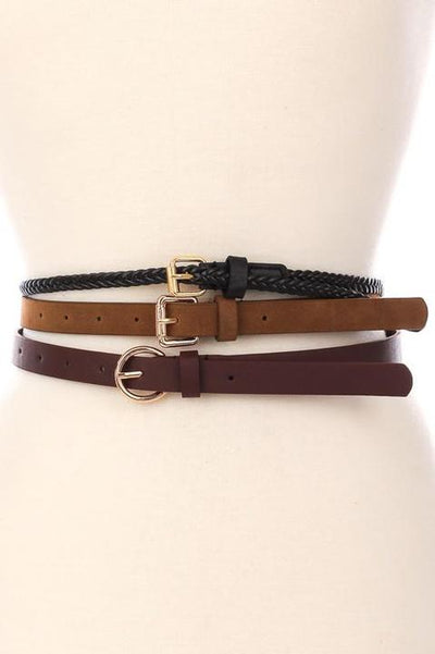 Sophie Skinny Fashion Belt Accessories - Sophie