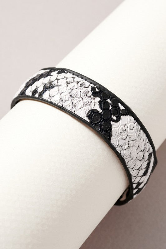 Sophie Snake Print USB Charger Bracelet Accessories - Phone Accessories - Sophie