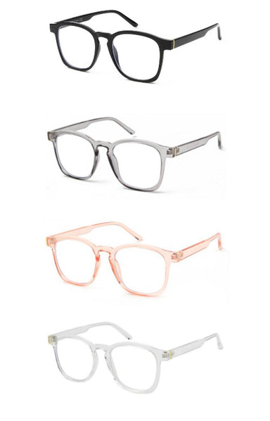 Classic Square Blue Light Glasses - Sophie