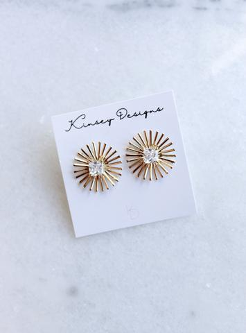 Burst Spark Earrings