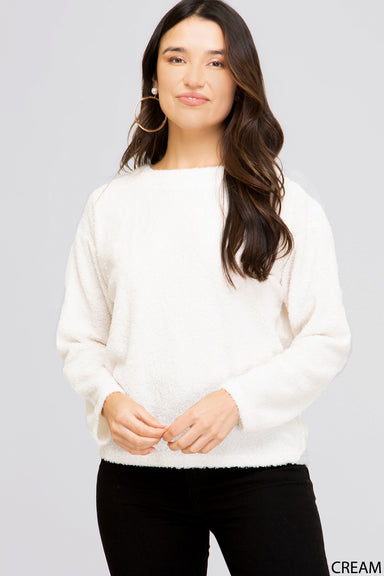 Sophie Stay Home Fluffy Pullover Apparel - Tops - Sweaters - Sophie