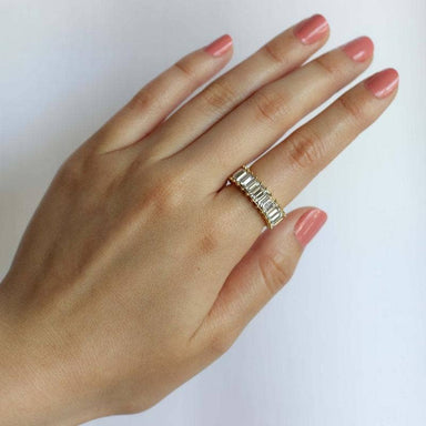 Nikki Smith Designs Crystal Shimmer Ring Accessories - Jewelry - Rings - Sophie