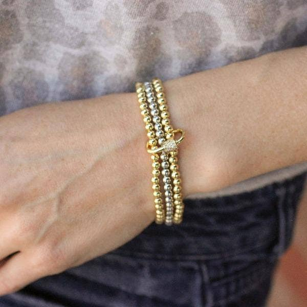 Nikki Smith Designs 14K Beaded Stack Bracelets Accessories - Jewelry - Bracelets - Sophie