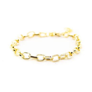 Savvy Bling Chain Link Bracelets 18K Gold Accessories - Jewelry - Bracelets - Sophie