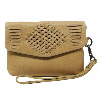Edith Leather Clutch - Sophie