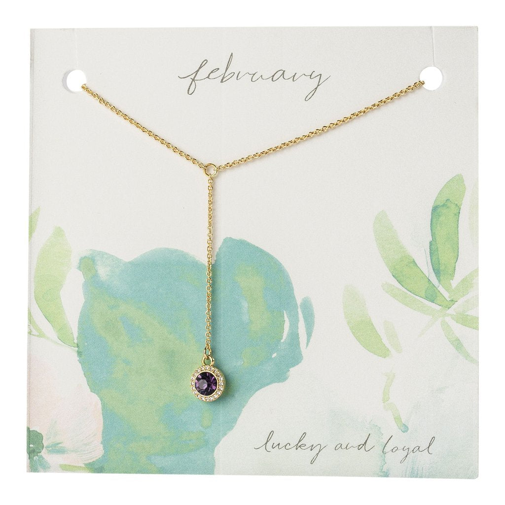 Yvonne Birthstone Necklace Gift - Sophie