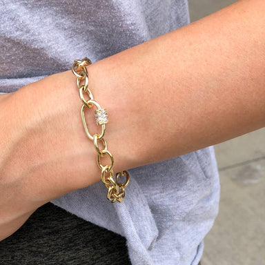 Nikki Smith Designs Finn 14K Gold Plated Link Bracelet Accessories - Jewelry - Bracelets - Sophie