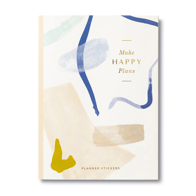 Compendium Make Happy Plans Stickers Gifts - Sophie