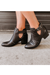 Nicole Kelby Leather Bootie Shoes - Booties - Heeled Booties - Sophie