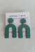 Whiskey & Wine Arc Earrings Accessories - Sophie