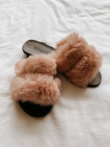 Fullmoon Fuzzy Slippers - Sophie