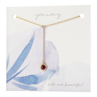 Violet & Brooks Yvonne Birthstone Necklace Gift Accessories - Jewelry - Necklaces - Sophie