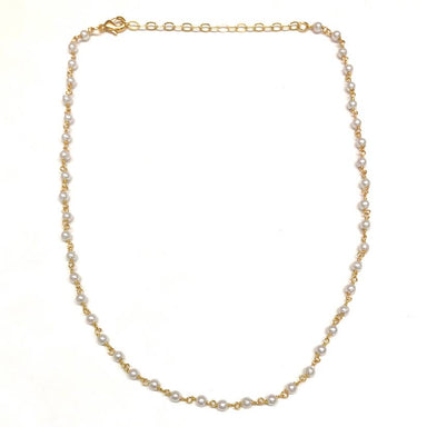 Nikki Smith Designs Mini Freshwater Pearl Choker Accessories - Jewelry - Necklaces - Sophie