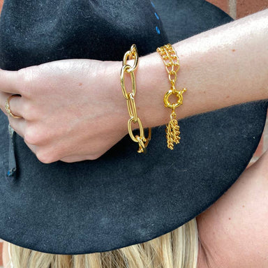Nikki Smith Designs Sailor 14K Gold Chain Bracelet Accessories - Jewelry - Bracelets - Sophie