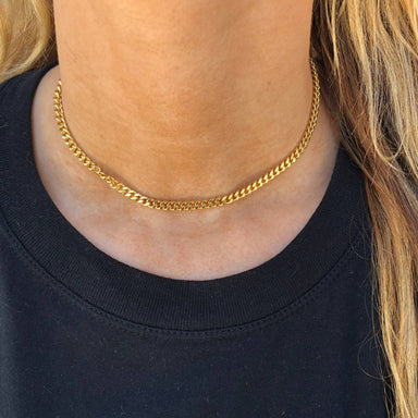 Nikki Smith Designs Tish 14K Gold-Filled Chain Choker Accessories - Jewelry - Necklaces - Sophie