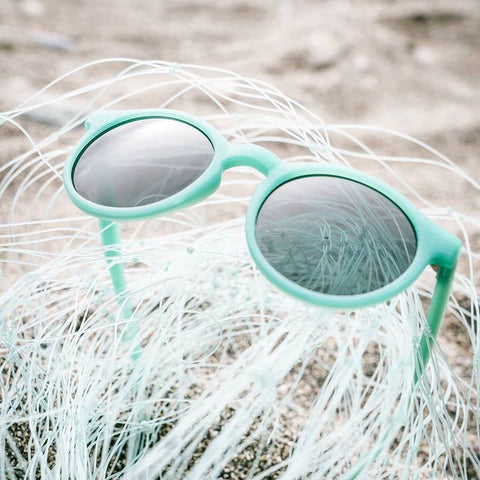 sunglasses made from fishing nets