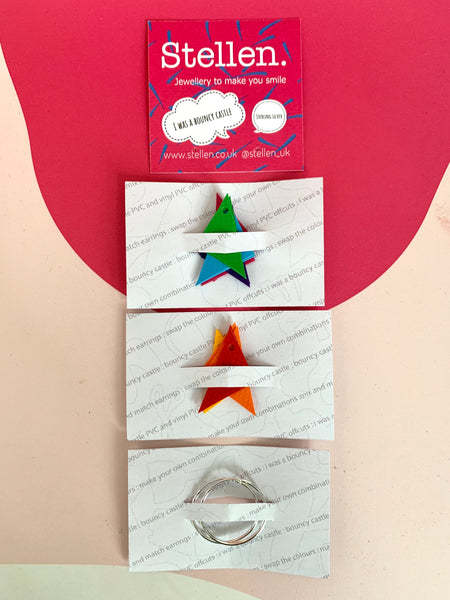 Stellen mix and match earrings packagiing example