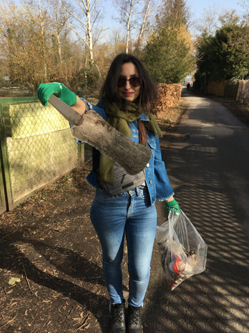 Litter-pick findings by Amy