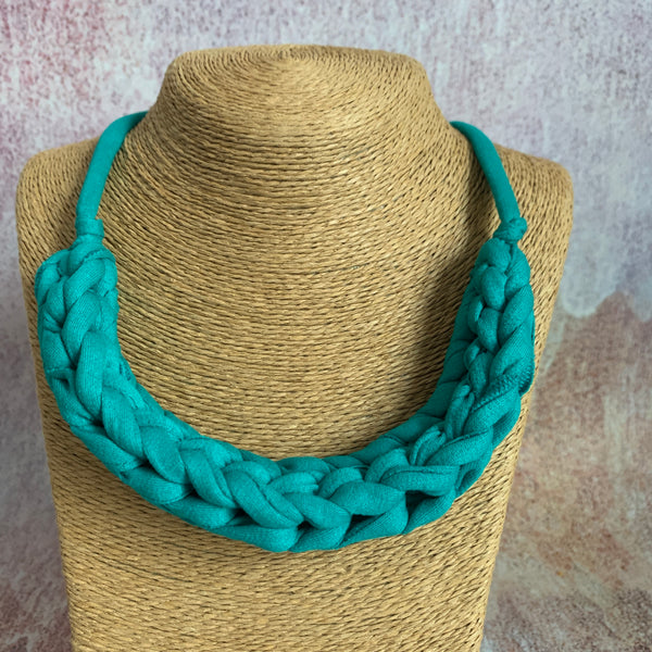 CURVE necklace: Electric turquoise - Stellen UK