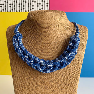 CURVE necklace : Lisbon Blue - Stellen UK