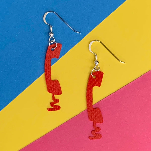 CALL ME earrings : I was a bouncy castle - Stellen UK