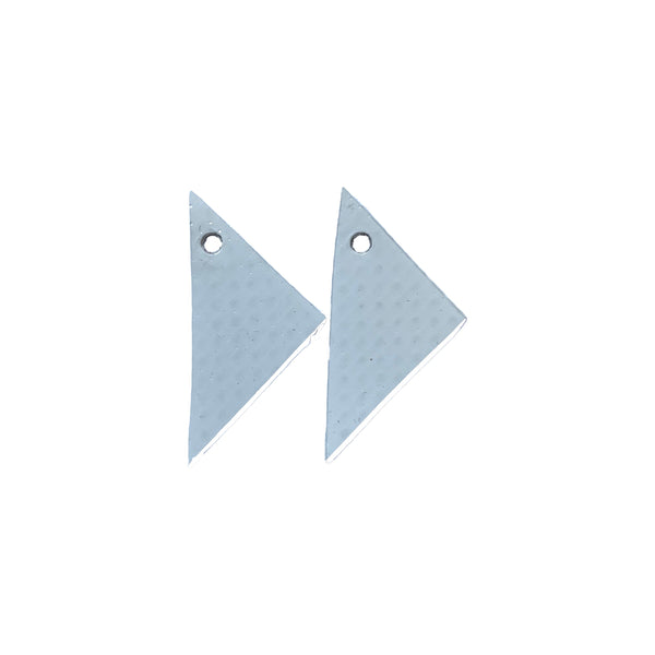 Set of 10 colours : TRIANGLE Earrings : I was a bouncy castle - Stellen UK