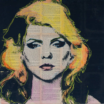 Blondie Debbie Harry Painting