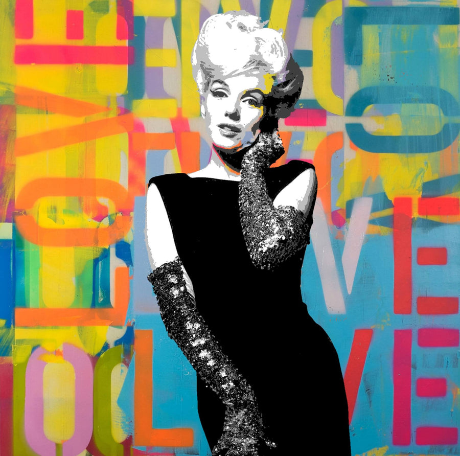 Marilyn Monroe - Limited Edition of 1 Artwork