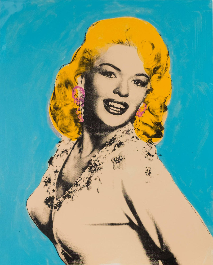 Jayne Mansfield Pop Art