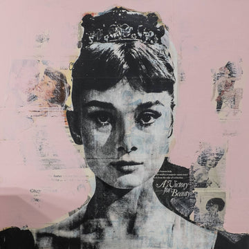 Audrey Hepburn A Victory for Beauty Collage