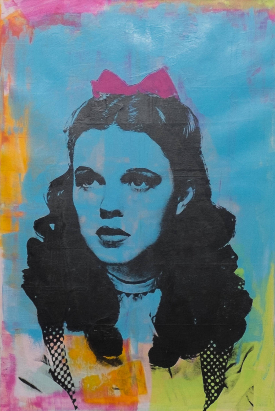 Portrait Painting of Judy Garland in The Wizard of OZ