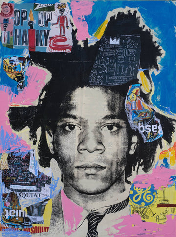 Basquiat Collage