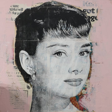 Audrey Hepburn Collage