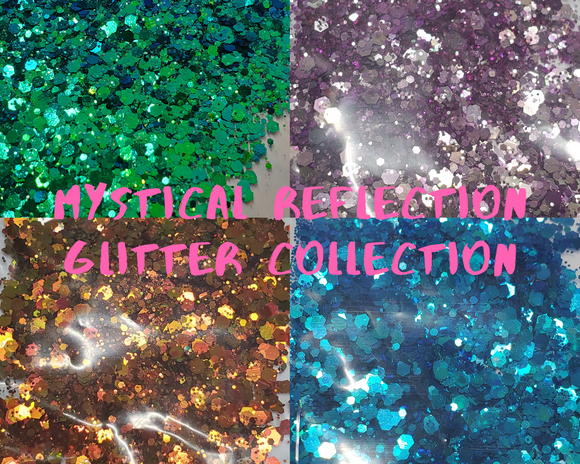 Mystical reflection glitter collection