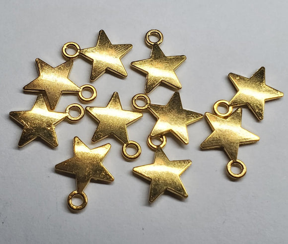 Small Stars charms for keychains