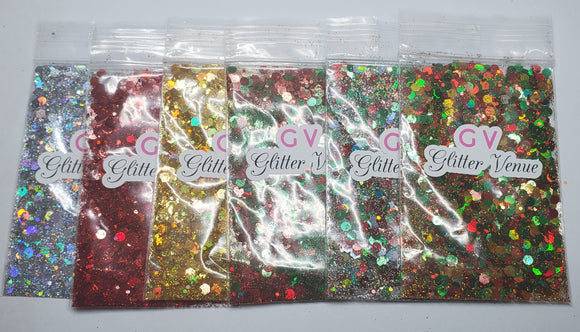 Christmas Glitter Collection 🎄🎅🎁