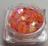 Translucent glitters. Set of 12