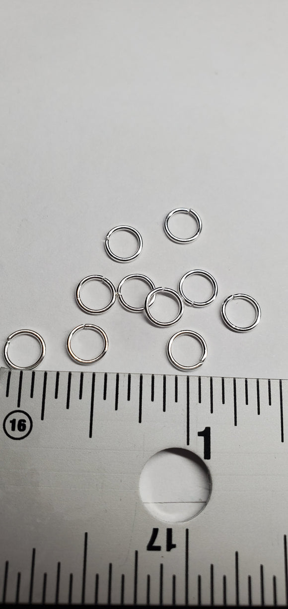 Silver o rings for jewerly making