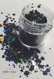 12 colors glitter set - Holographic