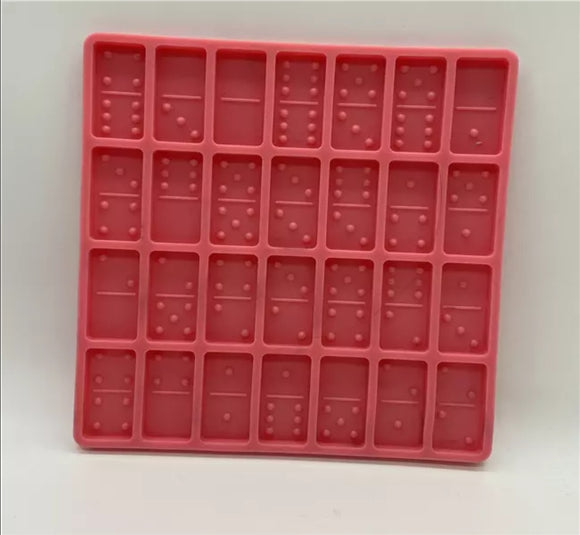 Dominoes silicone mold