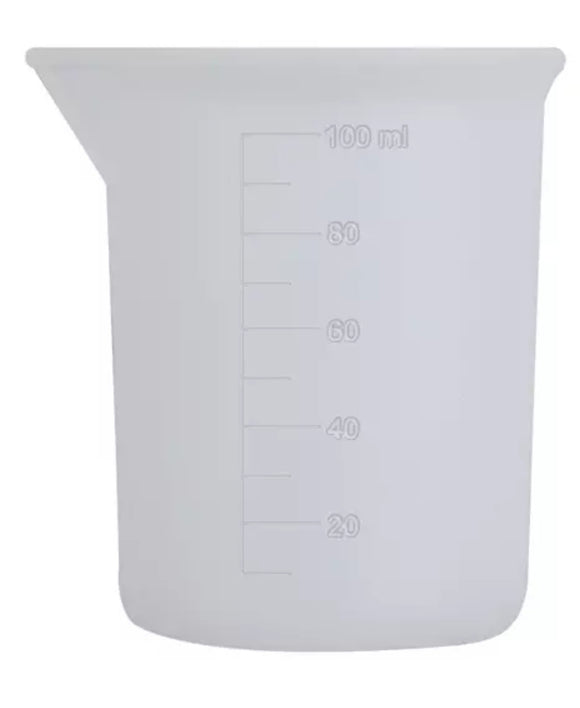 100 ml reusable silicone measuring cup