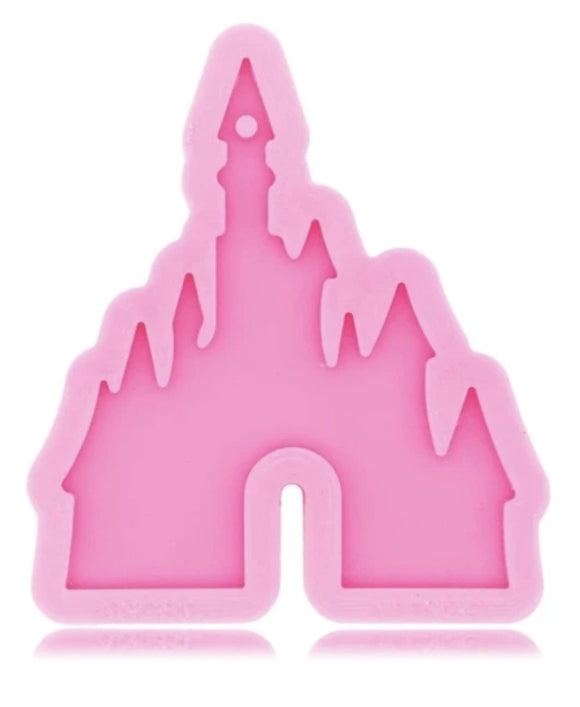 Magical castle Keychain silicone mold