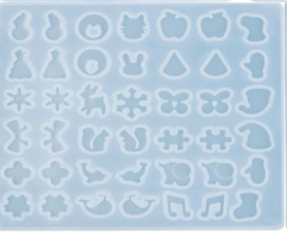 Charms silicone mold for keychains and jewerly making