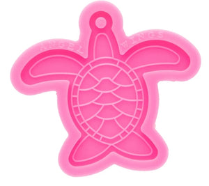 Sea turtle keychain silicone mold
