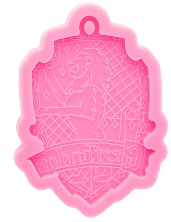 Gryffindor house keychain silicone mold