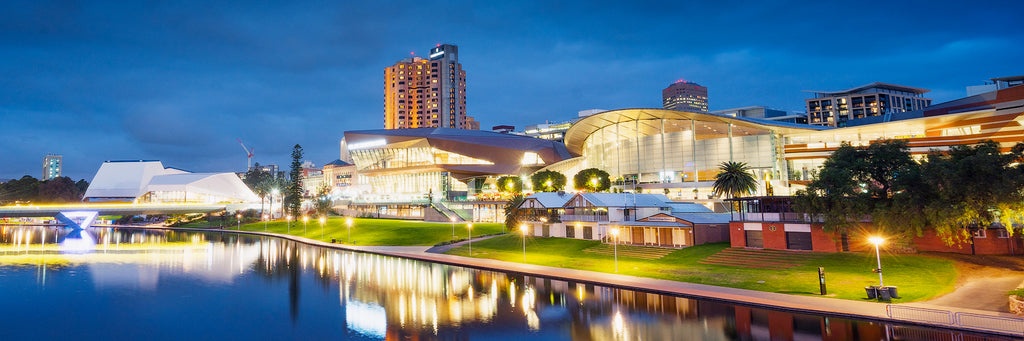 River Torrens in Adelaide City
