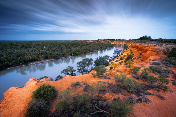 Red cliffs at Renmark in South Australia
