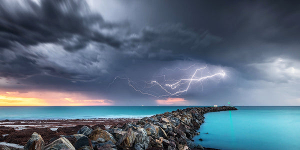 Lightning over North Haven, Adelaide
