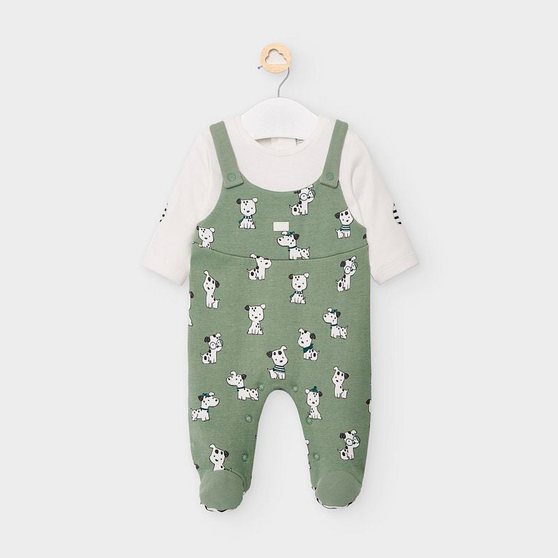 Dalmatian Romper for Newborn Boy